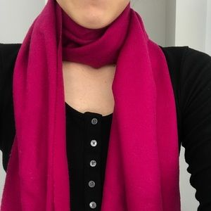 Hugo Boss Wool and Cashmere Blend Scarf